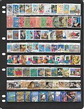 Australia Colección de sellos usados BB016