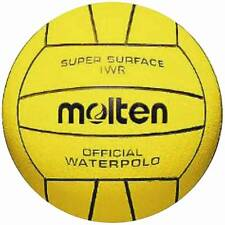 Molten IWR Official Mens Soft Waterpolo Ball Aqua Sports Swimming Pool Game