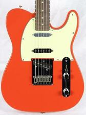 Fender Deluxe Nashville Telecaster Tele Electric Guitar Fiesta Red w/Gig Bag