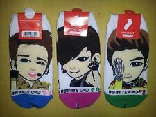 INFINITE SOCKS 3 pairs - DESTINY Infinitize KPOP POP SM idol last romeo
