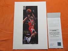 Michael Jordan Signed Arthur Miller Lithograph #25 of 25 Authenticated UDA- Rare