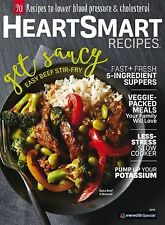 Heart Smart Recipes 2016 by Meredith Publishing new cookbook style magazine