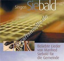 DCD: SINGEN SIE BALD MIT? (Manfred Siebald) - 2 CDs zum Preis von 1  *NEU*