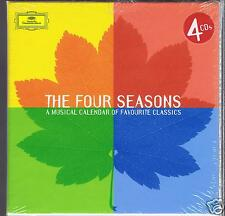 VIVALDI 4 CDS SET NEW A MUSICAL CALENDAR OF FAVOURITE CLASSICS/ 4 SEASONS