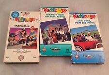 Lot of 3 Kidsongs Kid Songs VHS Tapes