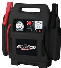 Emergency Car Jump Starter and Compressor with Rechargeable Battery