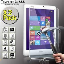"2 Pack Tempered Glass Screen Protector for Acer Iconia Tab 8 W1-810 8"" Tablet"