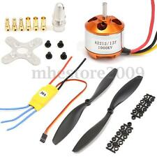 A2212 1000KV Brushless Motor w/30A ESC + Pair 1045 Propeller for DJI F450 550