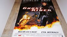 GHOST RIDER  ! affiche cinema marvel comics super-heros moto