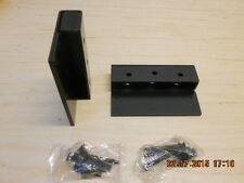 """Trimco 3096 UL  Black Mounting bracket for 2-1/4"""" stop. For door closer mounting"""