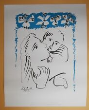 PABLO PICASSO FEMMES DU MONDE SIGNED AND DATED ORIGINAL  FRENCH LITHOGRAPH  COA