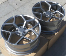 """20"""" 20x10/20x11 5x120 MRR M228 Wheels For Chevy Camaro SS RS Z28 Concave Rims"""