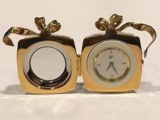 SWAROVSKI CRYSTAL MEMORIES GIFT / PRESENT CLOCK with a BRAND NEW BATTERY!!!!