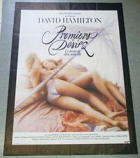 Affiche de cinéma : PREMIERS DÉSIRS de David HAMILTON