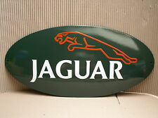 JAGUAR E-mail scudo in puro SMALTO SCUDO 50 x 24 cm top ENAMEL SIGN