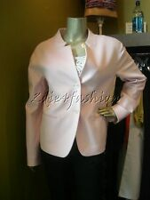$2975 New JIL SANDER Luxurious Pale Pink Super Soft Cashmere Jacket 12 42