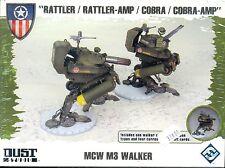 FFG DUST TACTICS ALLIES BOITE MCW M3 WALKER PLASTIQUE