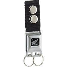 Honda Motorcycle Seat Belt Buckle Licensed Nylon Metal Keychain