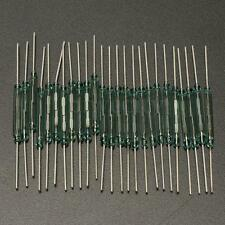 25PCS Reed Glass Magnetic Induction Switches Tube N/O SPST 300VDC 3X20MM