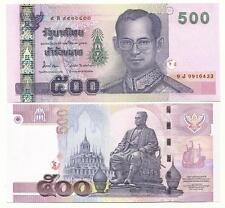 THAILAND 500 BAHT 2001 (2012) SIGN 84 UNC P 107