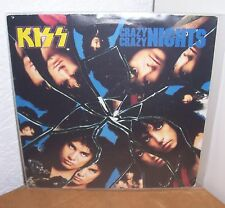 "KISS - SINGLE - 7"" - CRAZY CRAZY NIGHTS - FRANCE - BLUE LABEL - VINYL"