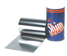 """.003"""" Stainless Steel Shim Stock Roll"""
