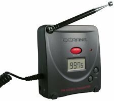 New C. Crane Digital FM Stereo Transmitter with AC Adapter - Black Color