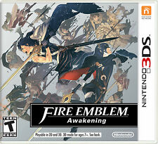 Nintendo 3DS US Fire Emblem Awakening full game download carte-lire annonce