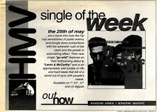 """16/5/92Pgn17 THE 25TH OF MAY : GO WILD SINGLE ADVERT 7X10"""""""