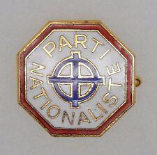 BOU667 - INSIGNE BOUTONNIERE - POLITIQUE - PARTI NATIONALISTE