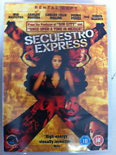Mia Maestro SECUESTRO ESPRESSO 2005 Violent Venezuelano Crimine Thriller UK DVD