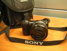 Sony Alpha a5000 20.1MP Digital SLR Camera W/16-55mm Lens PERFECT USED CONDITION