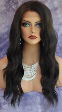 LACE FRONT HAND TIED EAR 2 EAR LACE HEAT FRIENDLY #2 DARK BROWN WIG US SELL 252