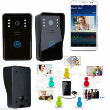 Smart Wireless WiFi Video IR Camera Door Phone Doorbell Intercom Security System