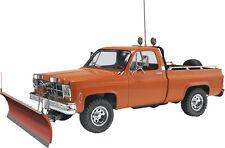 2012 Revell 7222 1/24 GMC V-8 350 Pickup w/ Snow Plow Plastic Model Kit new