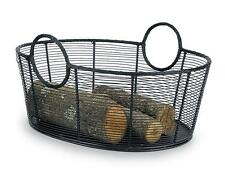 Achla Minuteman Fire Wood Log Basket - Steel Wire Basket - Large WI-09