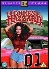 DUKES OF HAZZARD COMPLETE SEASON 5 DVD SERIES hazard Brand New Sealed UK Release