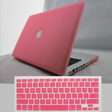 Frosted Matte Rubberized hardshell Case Cover For Apple Macbook Air Pro 13 15 11
