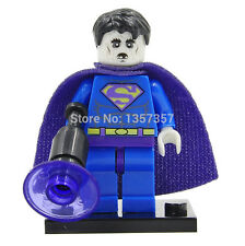 New! BIZARRO SUPERMAN Zombie Minifigure LEGO Compat. DC Comic Custom