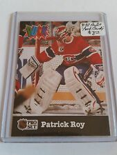 1991-92 Pro Set Puck Candy #14 Patrick Roy : Montreal Canadiens
