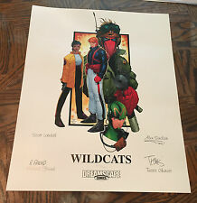 "Wildcats Lithograph Signed & Numbered by Travis Charest 16"" x 20"" Ltd Ed of 500"