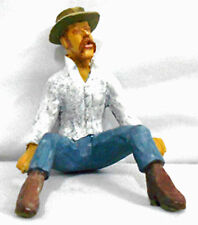LUMBERJACK RESTING MAN G F 1:20.3 Model Railroad Painted Figure FGGLOG09