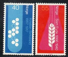 NORWAY MNH 1966 The 100th Anniversary of the Birth of Kristian Birkeland