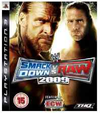Wwe Smackdown vs Raw PS3 - 2009 ** Nuevo Y Sellado ** existencias oficiales del Reino Unido