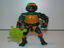 TMNT TEENAGE MUTANT NINJA TURTLES 1989 ROCK'N'ROLL MICHAELANGELO NEAR COMPLETE