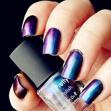 6ML Born Pretty Chameleon Nail Polish Varnish Blue(Black Base Color Needed) #217