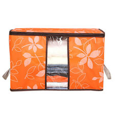 Foldable Storage Organization Bags Flower Printed Clothing Shoes Storage Bags