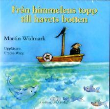CD Hörbuch SCHWEDISCH Från Himmelens Topp Till Havets Botten, Martin Widmark NEU
