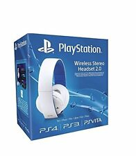 Bien: Sony PlayStation Wireless Stereo Headset 2.0 - White (ps4/ps3/ps Vita)