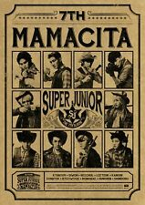 K-POP SUPER JUNIOR 7th Album [MAMACITA] (Ver B.) Ayaya CD Sealed Music CD